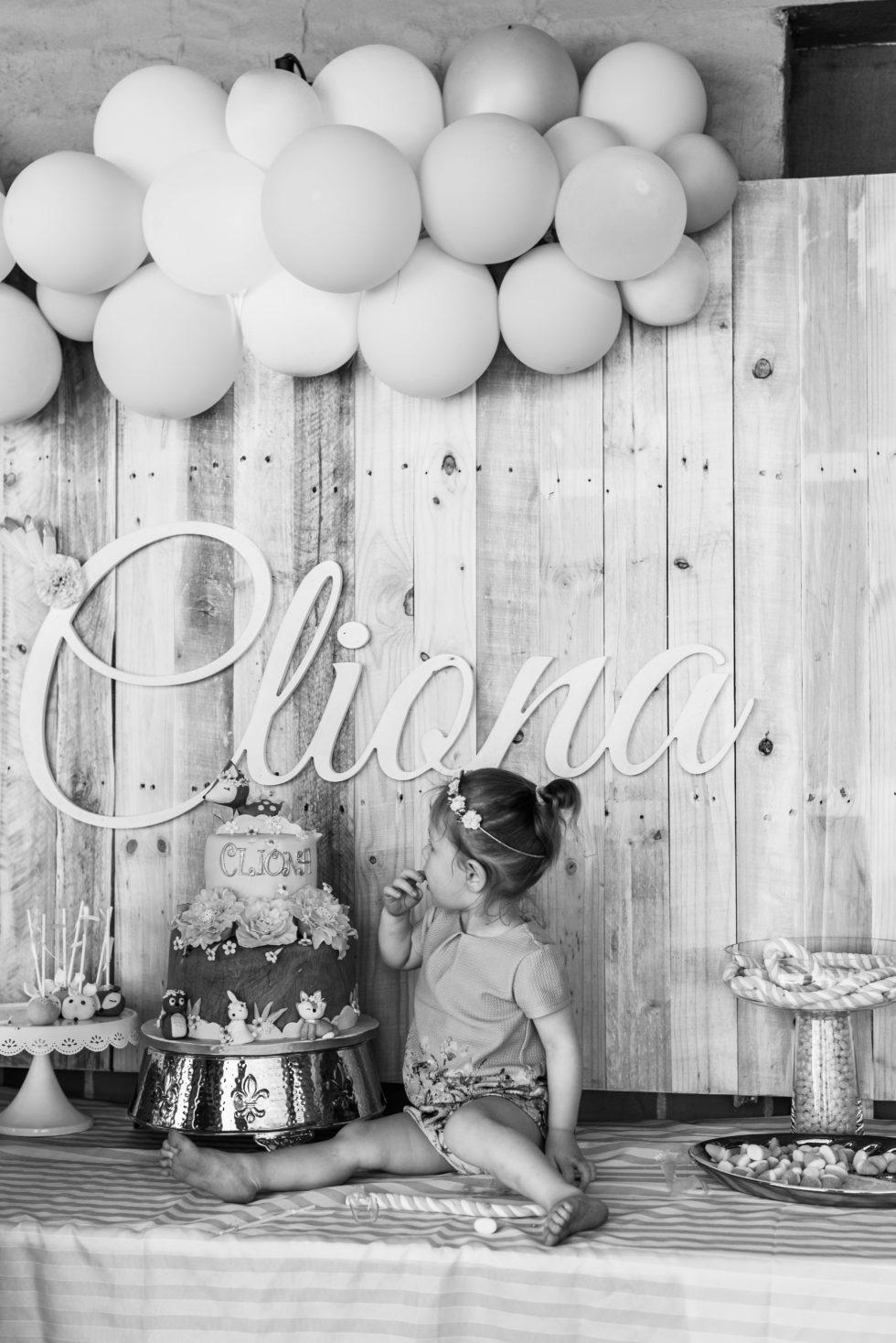 Cliona 1st Birthday