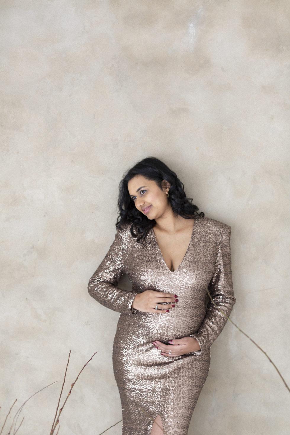 Kashmiri Maternity Gold